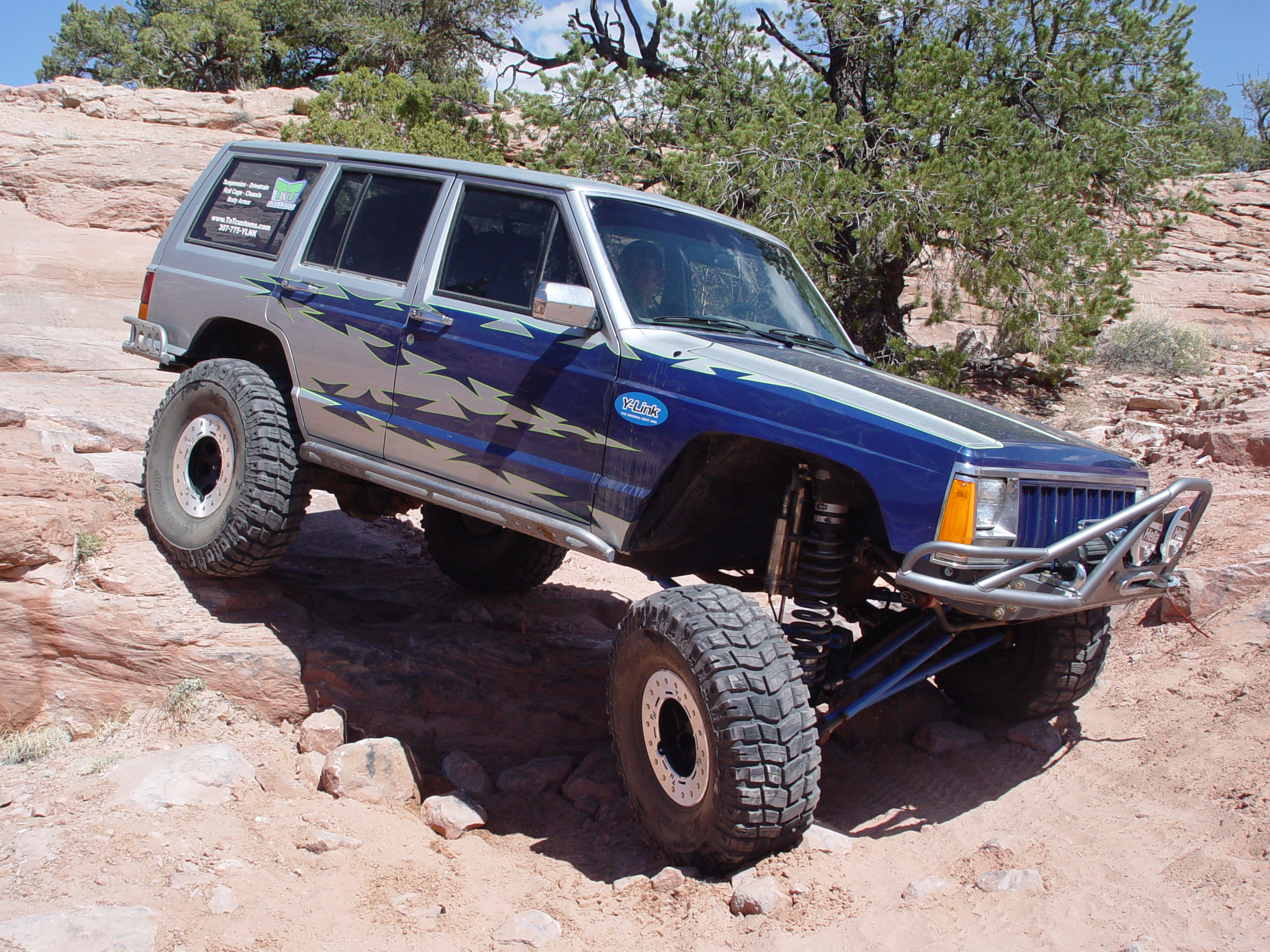 XJ Long Arm Upgrade Rock Tek Jeep Cherokee 87 01 TNT Customs