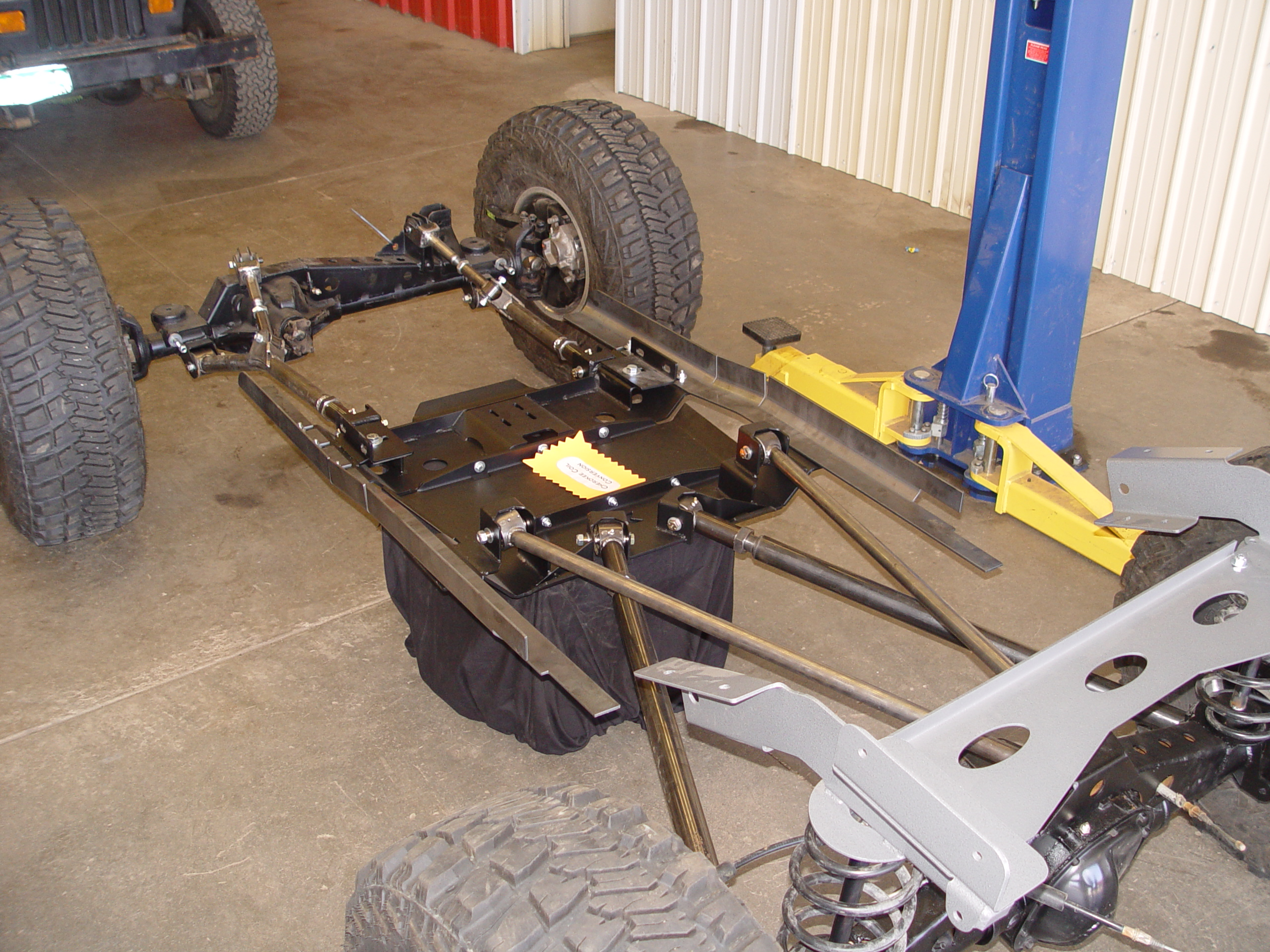 xj long arm upgrade coil conversion 84-01 cherokee tnt customs