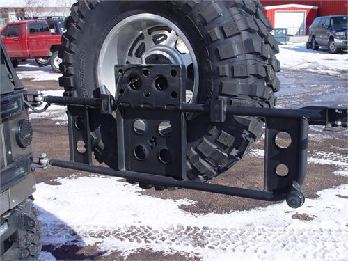 Jeep Tj Swing Out Tire Carrier Rear 97 06 Wrangler Tj Lj