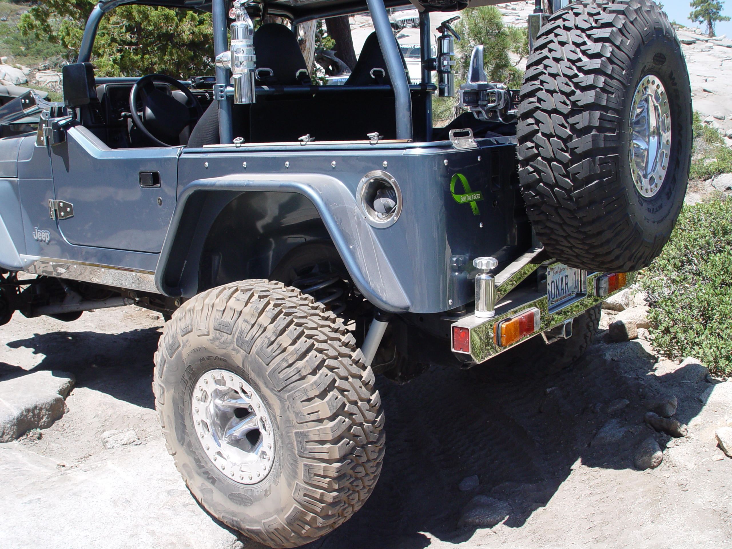 Jeep Tj Fender Flares W Corner Guards 6 Inch Flare 97 06 Wrangler Tj Tnt Customs Jeep Aftermarket Parts Tnt Customs