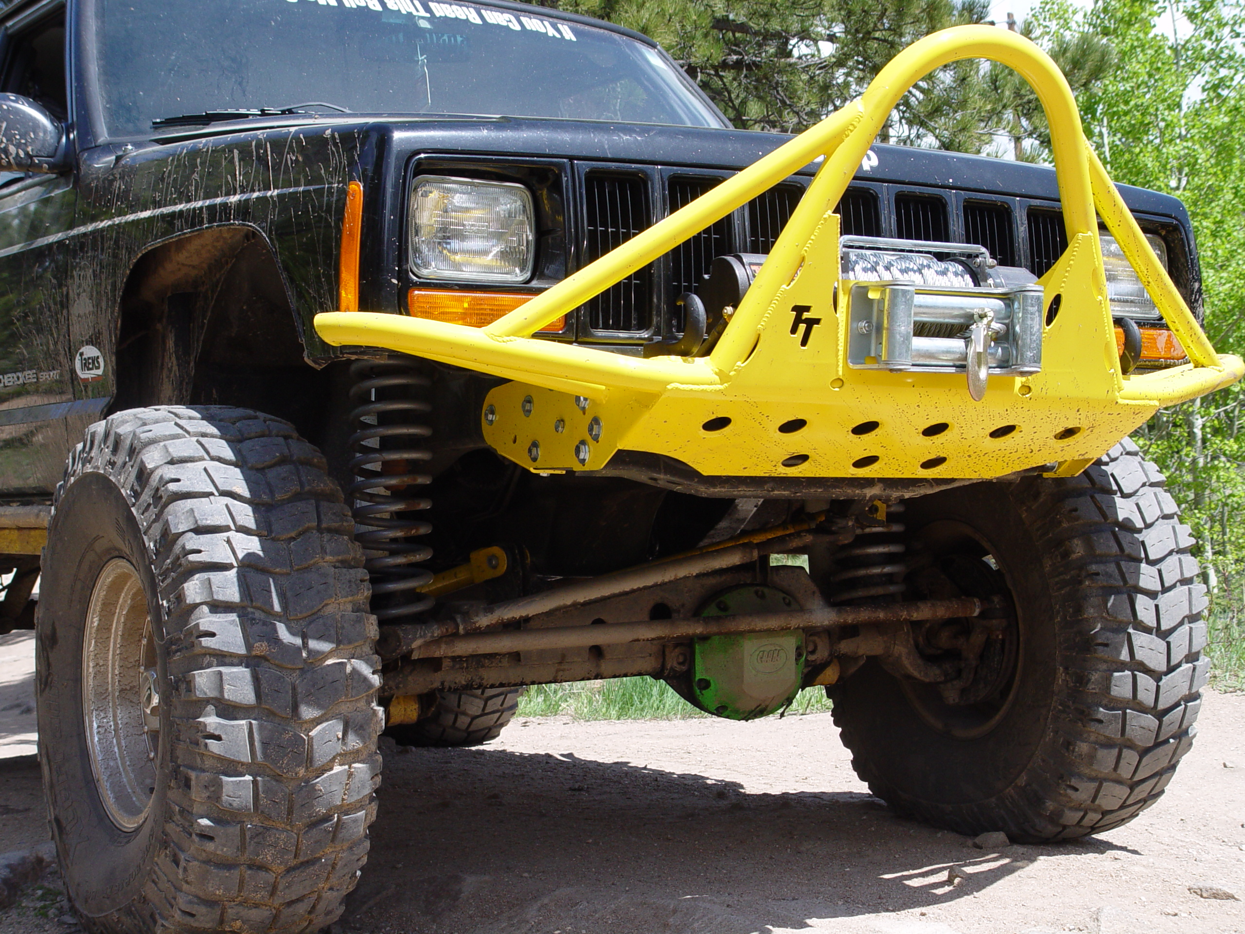 tnt jeep cherokee xj rock runner front bumper bumper mounts. Cars Review. Best American Auto & Cars Review