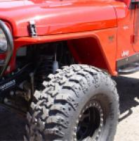 TNT Jeep TJ/LJ Tube Fender with Phantom Flare