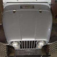 "TNT Jeep CJ Tube Fenders,6"" Flare,full replacement, top view"
