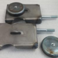 front axle coil mounts- stretch