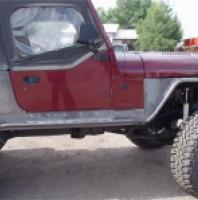 Jeep CJ8 Scrambler Sliders