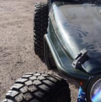 TNT Jeep High Clearance Tube Fenders Phantom Flare Hyline top one side