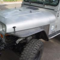 "TNT Jeep YJ Tube Fenders, 4.5"" Flare"