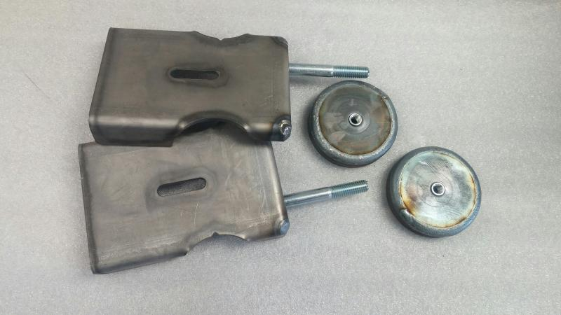 jeep front axle coil mounts