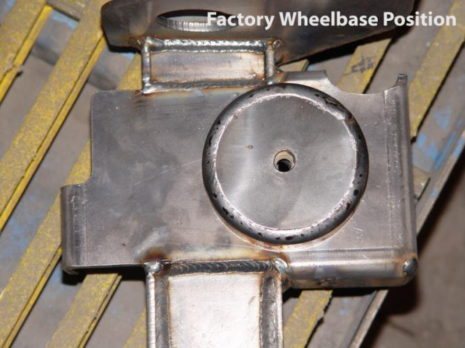 Jeep Axle Truss Stretch, Coil Mount factory position