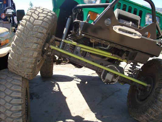 Jeep Front Axle Truss Ford HP Dana 44 Radius Arm Style Jeep