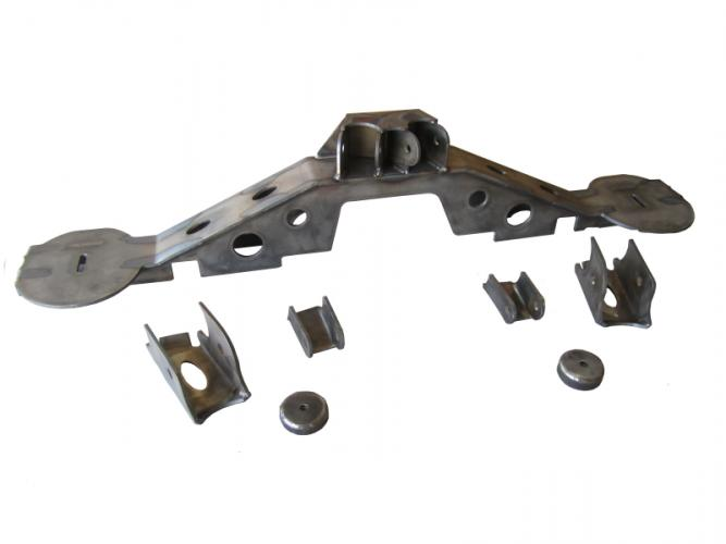 TNT Jeep LJ Long Arm Suspension Rear Axle Truss