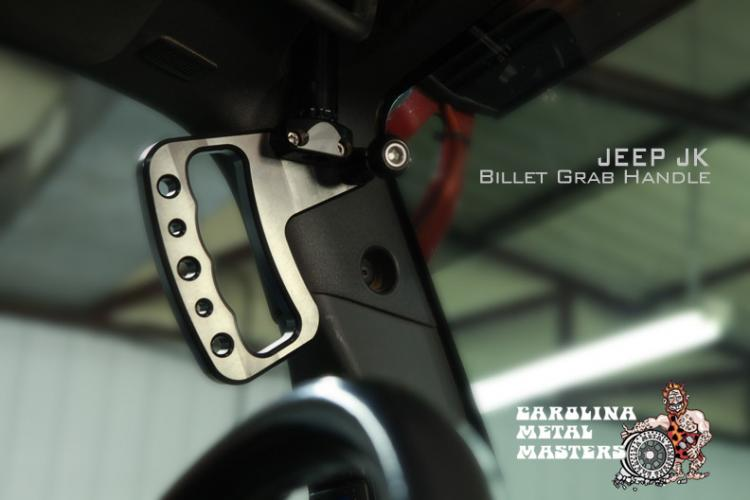 Billet Aluminum Grab Handles By Cmm Jeep Aftermarket