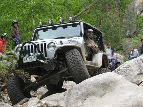 TNT Jeep LJ Long Arm Suspension Upgrade trail