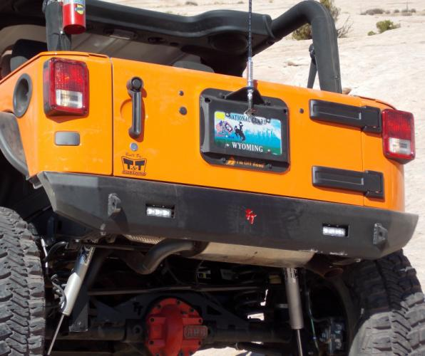 license plate mount