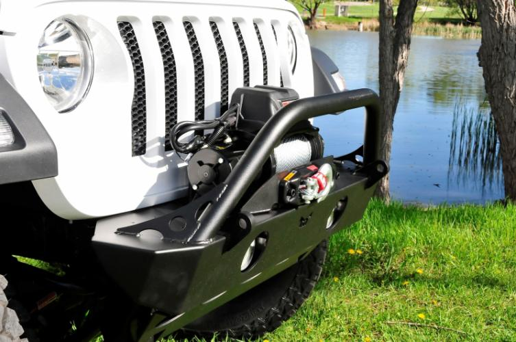 Jeep JL Front Bumper Adventure Series with tube