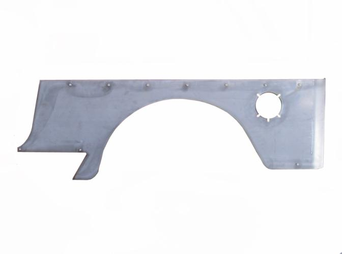 TNT Jeep LJ Corner Armor, No Flare, stock opening