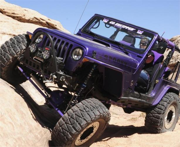 TNT Jeep Wrangler TJ Long Arm Suspension Upgrade Front Flex
